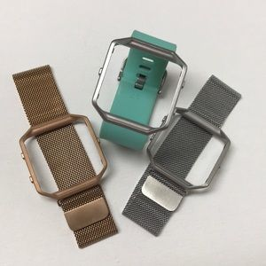 Accessories - 3 Fitbit Blaze Frame and Bands